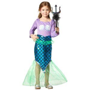 dressforfun Entzückende Meerjungfrau - 140 (9-10 Jahre)