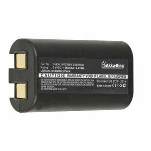 Akku kompatibel mit Dymo 14430, S0895880, W003688 - Li-Ion 650mAh - für 3M PL200, Dymo 260P, 280, LabelManager 260, 260P, 280, PnP