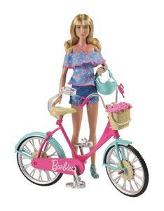 Barbie Fahrrad. DVX55