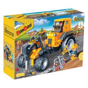 Bausteine Konstruktionsspielzeug Baustellenfahrzeug BanBao 8537  Bauklötzen