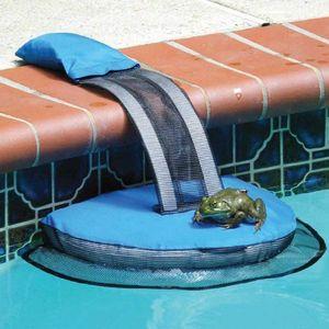 Freibad Tierrettung Fluchtrampe Reiniger Critter Birds Frog Saver Blue