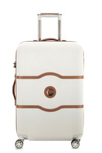 Delsey Chatelet Air Polycarbonat 4-Rollen Trolley Koffer 00 1672 810, Farbe:Angora