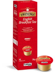 CAFFITALY Twinnings English Breakfast Tea 6er (Cafissimo kompatibel)