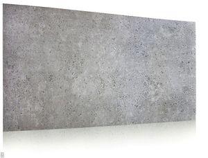 Wanddeko Platte Beton Imitation Wandpaneele Wandverkleidung BETONLOOK IMITATION aus Polystyrol (0,5qm)