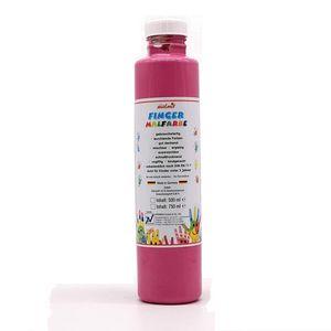 play malmit® Fingerfarben Fingermalfarben Fensterfarben Malfarben Kinderfarben Rosa 750ml