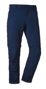Schöffel Pants Folkstone Zip Off Wanderhose, Größe:Kurzgröße 26, Farbe:dress blues