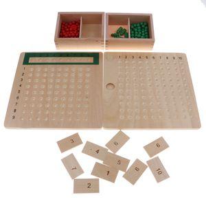 Multiplikationsbrett Divisionsbrett, Montessori-Material für Kinder ab 4.5 Jahre