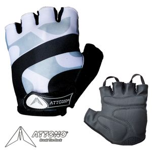 ATTONO Fahrradhandschuhe Damen Herren Gel Fahrrad Handschuhe