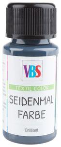 VBS Seidenmalfarbe, 50 ml Silbergrau