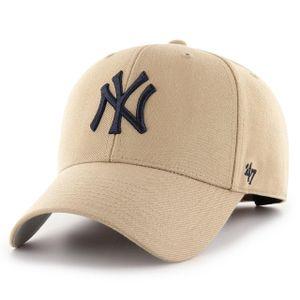 47 Brand Relaxed Fit Cap - MLB New York Yankees khaki beige