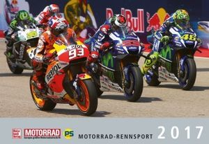 Motorrad-Rennsport Kalender 2017