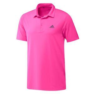 Adidas Ultimate365 Solid Left Chest Polo Shirt Herren Pink, Größe:M