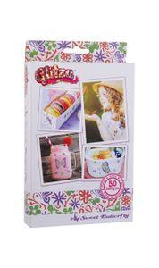 "GLITZA ART - Starter Set ""Sweet Butterfly"" inkl. 50 Tattoos"