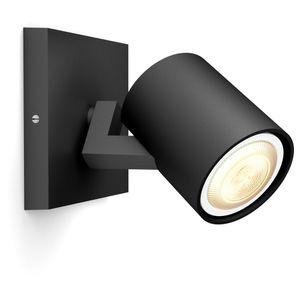 Philips Hue Bluetooth White Ambiance Spot Runner in Schwarz 1-flammig mit Dimmschalter