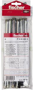 Fischer Fensterrahmendübel F 10 M 202 B SB-Karte - 6 Stück