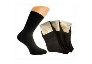 3 Paar Damen Thermo-Socken schwarz, Gr. :39/42, Menge:1 Pack = 3 Paar