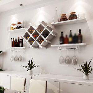 Weinregal Hängeregal Wandmontage  Weinschrank  Wandhalterung  Flaschenständer Flasche Glashalter  Flaschenhalter Regale Restaurant Bar  Küche