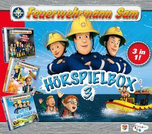 Feuerwehrmann Sam - Feuerwehrmann Sam-Hörspiel Box 3 - CD