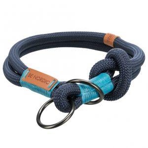 Trixie BE NORDIC Zug-Stopp-Halsband - dunkelblau 55 cm