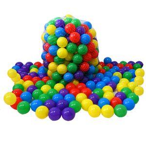 500 Stück Bällebad Bälle Bällebadbälle Bunte Farben ø 5,5 cm Ball Baby