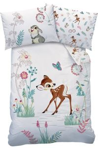 Disney Bambi Baby-Bettwäsche  100 x 135 cm, 100% Baumwolle