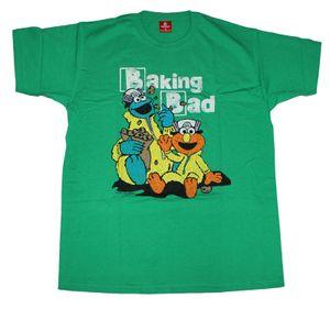T-Shirt Sesamstraße / Sesam Street - Baking ( Breaking ) Bad , Größe:S