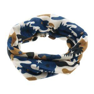 Melady Kinderschal MLSCC0005BL 38*25 cm - Blau Polyester Schal Kinder Tücher Halstücher