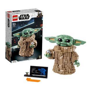 LEGO 75318 Star Wars: The Mandalorian Das Kind, Bauset, Bauspielzeug zum Sammeln für Fans ab 10 Jahren, Geschenkidee