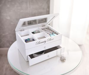 Schmuckkästchen 'Beauty-Box' Kiste Korb aufräumen Ordnungshüter