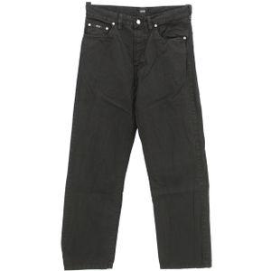 #5507 Hugo Boss, Arkansas ,  Herren Jeans Hose, Denim ohne  Stretch, black, W 33 L 30