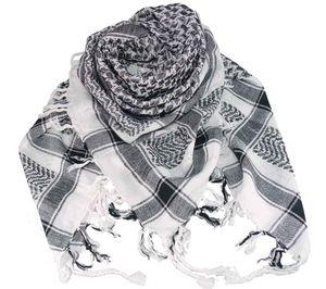 PLO Tuch in 20 Farben 100 % Baumwolle  dick, Farben:weiss-schwarz