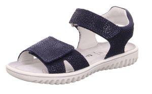 Superfit SPARKL Sandale blau Größe 33, Farbe: BLAU