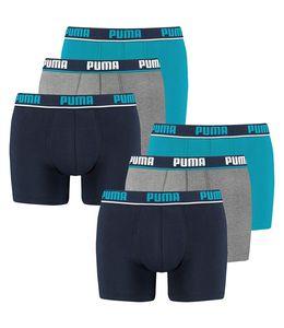 PUMA - Herren Boxer - Boxershort - Herren Unterwäsche - 6er Pack - Blue | Größe M