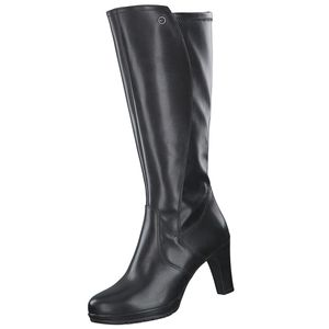 Tamaris Damen Elegante Stiefel 1-25568-25 Schwarz 001 B/Synthetik, Groesse:38 EU