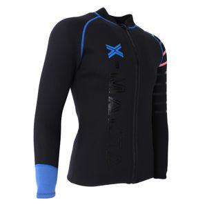 1 Stück Neoprenanzug Jacke , Größe 3XL Farbe Schwarz