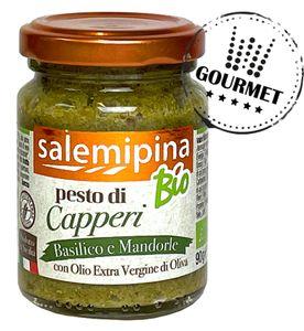 Kapern Pesto -& vegan - 90g