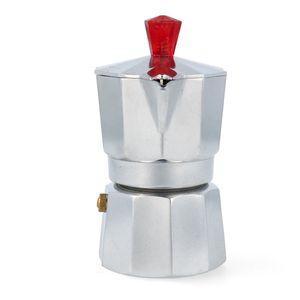 Pezzetti Espressokocher Italexpress 1 Tasse Aluminium glänzend