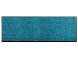 Küchen-Läufer Vorleger CLEAN - Türkis - 60x180cm, Rutschfester Schmutzfang-Teppich für die Küche und Flur