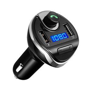 Bluetooth Wireless FM transmitter Kit MP3 Radio Adapter Auto USB Ladegerät