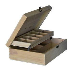 Holzschatulle Holzkästchen Holzkiste Holz Aufbewahrungsbox für Schmuck