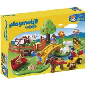 PLAYMOBIL – 6670 1.2.3 Country Familie