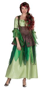 Damen Kostüm Märchen Waldfee Fee Elfe Karneval Gr.46