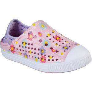 Skechers Mädchen Hello Daisy Schuh FS7292 (28 EU) (Pink/Weiß)