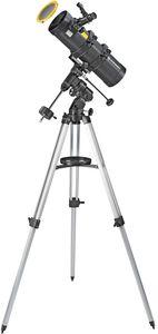 BRESSER Spica 130/1000 EQ3 - Spiegelteleskop mit Smartphone-Adapter