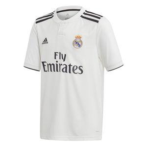 adidas REAL MADRYT HOME JUNIOR Kinder Trikot T-Shirt Weiß, Größe:140