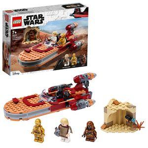 LEGO 75271 Star Wars Luke Skywalkers Landspeeder Bauset mit Java Minifigur, Serie Eine Neue Hoffnug Serie