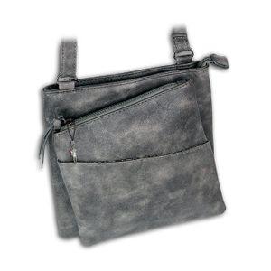 Jennifer Jones Kunstleder Tasche Damen Umhängetasche Abendtasche grau D2OTJ141K