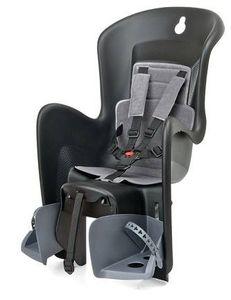 Prophete 0045 Kindersitz Bilby Maxi CFS für Gepäckträgermontage, für Kinder von 9-22 kg, 5-Punkt-Sicherheitsgurte