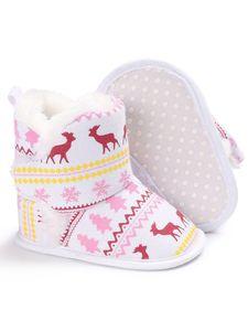Kinder Jungen Und Mädchen Leichte Baumwollstiefel Mode Neues Kurzes Stiefelset,Farbe: Weiß,Größe:12cm/20