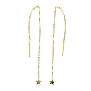 Mllaid Damen Ohrringe Weihnachten Stern Ohrring Ohrringe lange Kette Quaste Ohrringe
